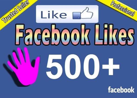 I will Add 500 likes on your Facebook Fanpage for 5£