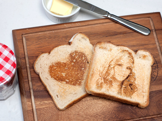 I will create your picture on cup OR toast
