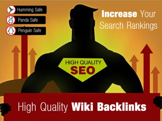 I will create 1500 Contextual Wiki back links to dominate the SERPs