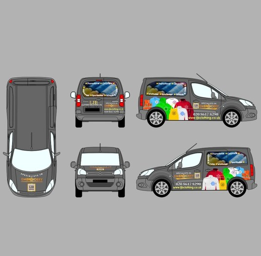 I will create outstanding VEHICLE WRAP/SIGNAGE