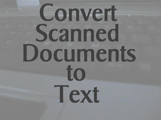 I will type up to 10 pages from scanned documents