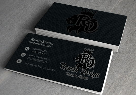 I will Design 2 CREATIVE Business card