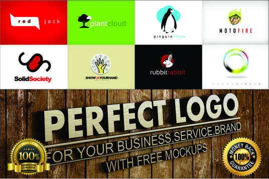 I will do 3 perfect logo concepts for your business with free 5 mocukps