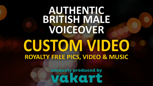 make a custom video for your product or service