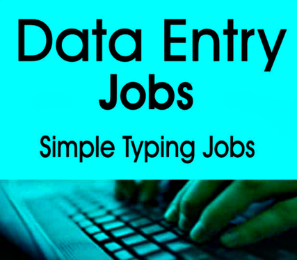 do Data Entry and Copytyping jobs