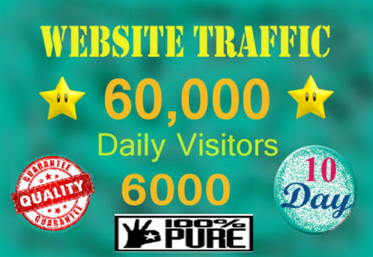 I will drive usa niche,targeted website,traffic,visitors
