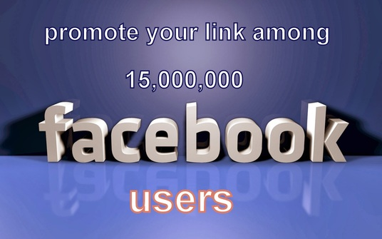 I will promote websites or anything on Social media among  15 Million active Members