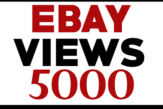 I will promote your ebay listing for views