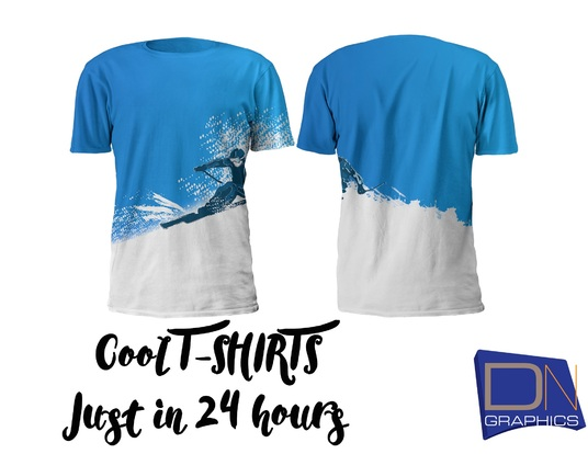 I will design an amazing T SHIRT design just in 24 hrs