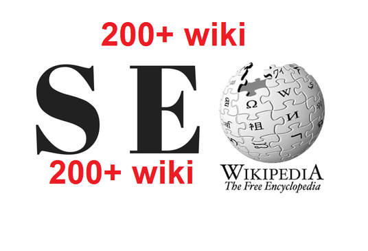 Give you 200+ wiki articles contextual backlinks