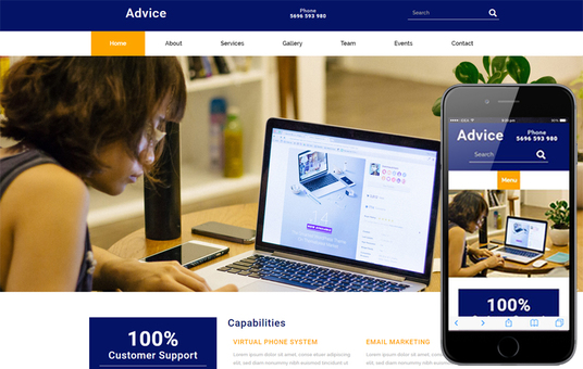 I will convert psd to responsive html template