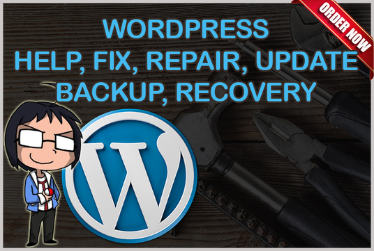 do Wordpress backup, recovery, fix issue, assist, migrate and install