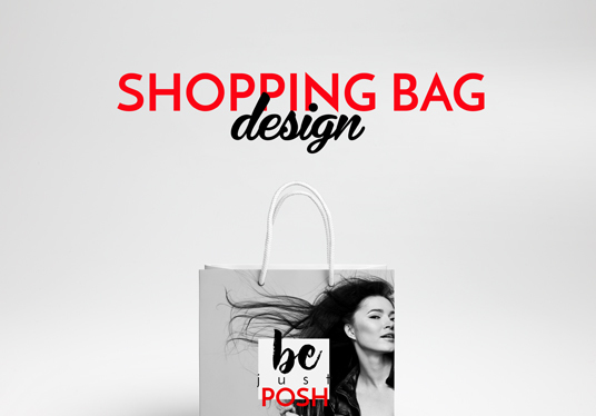 I will design your shopping bag