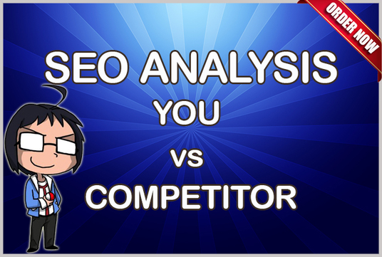 I will do DETAIL SEO AUDIT of your website versus your COMPETITOR
