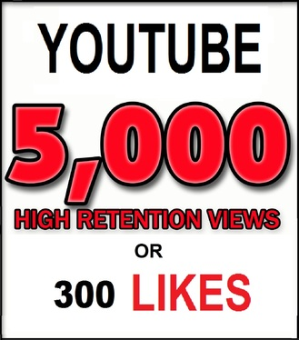 Add 2,000 HR Views or 100 Youtube Likes