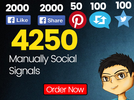 I will Build 4250 Social Signals