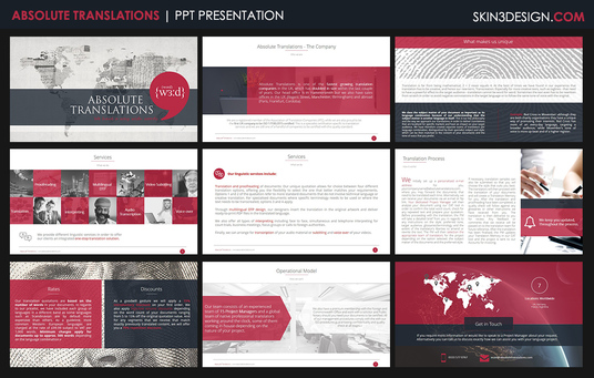 design a professional 12 slide powerpoint presentation ppt for 50