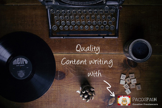 I will create quality web content