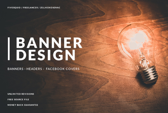 I will design a professional banner