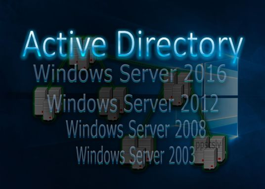 I will configure Active Directory on Windows Server 2016, 2012 or 2008