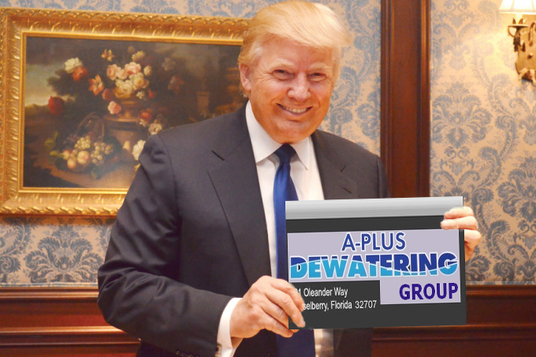 I will make Donald Trump hold your sign