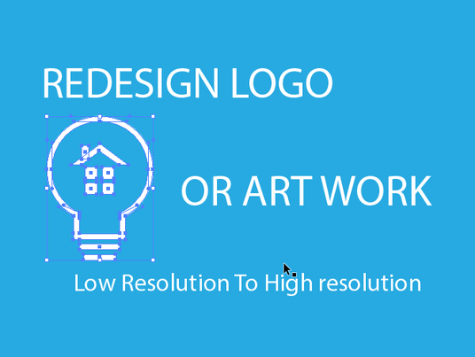 I will convert or redesign your logo or art work to vector