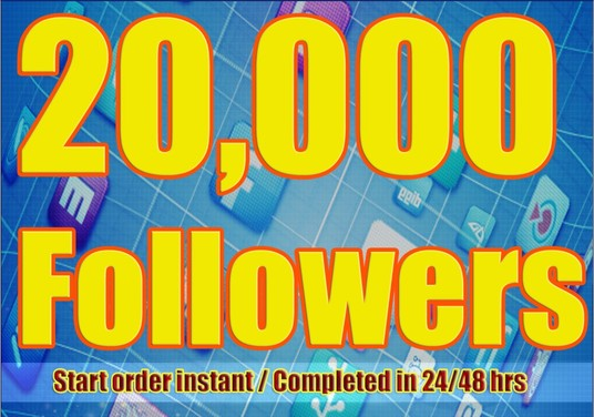 I will Add 20,000+ Twitter Followers