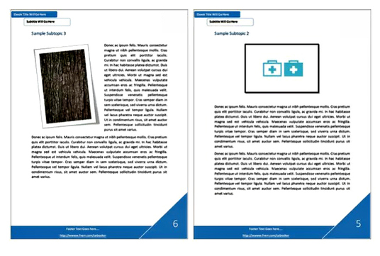 I will redesign your current ebook or document into a pdf ebook with awesome Layout