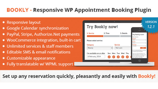I will install and customize Bookly WordPress Appointment Booking Plugin
