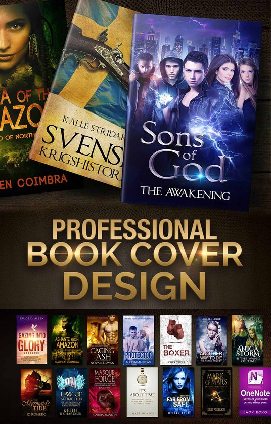 I will design Professional Ebook or Paperback Cover