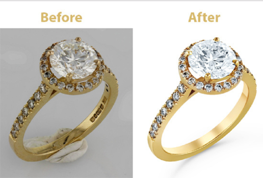 I will do jewellery retouching at studio quality for 5 images