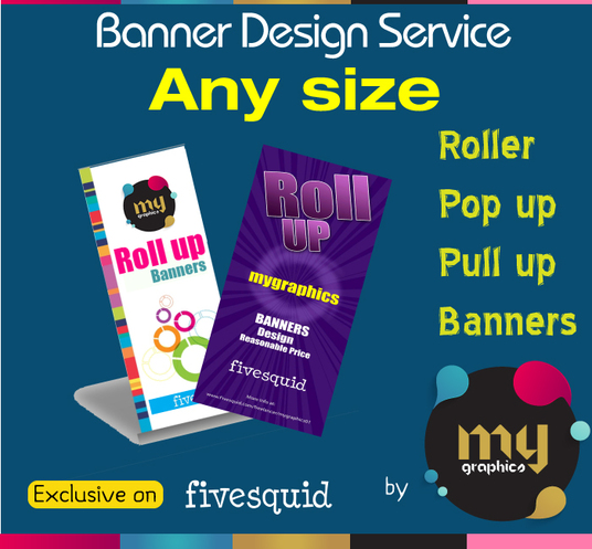I will Design Professional Banners