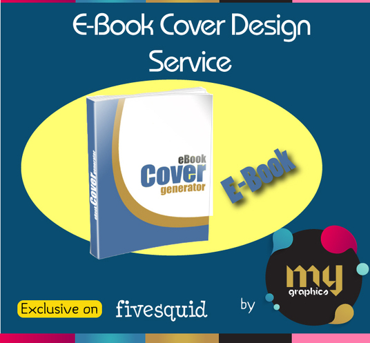 I will design a completely original Ebook cover in my style