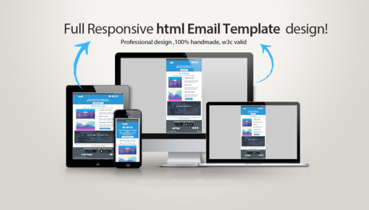 Design Responsive Editable Mailchimp Newsletter Or Html Email