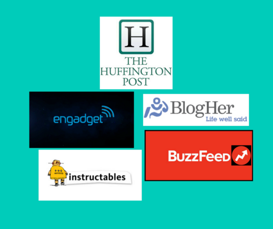 I will publish guest post on Big Sites like Huffington Post, Engadget, Buzzfeed, Instructables an