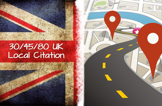I will do 30-80 UK best local listing citation manually