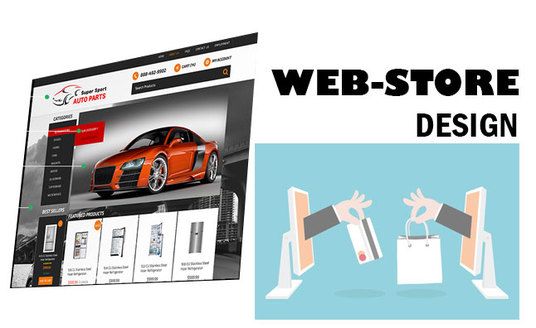 I will create you an E-commerce website,  With 20 products,  online with fully functioning paypal