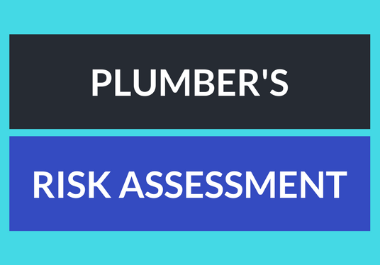 I will write your plumbing risk assessment in 2 days