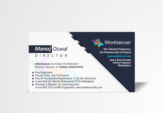 I will create professional business cards for you