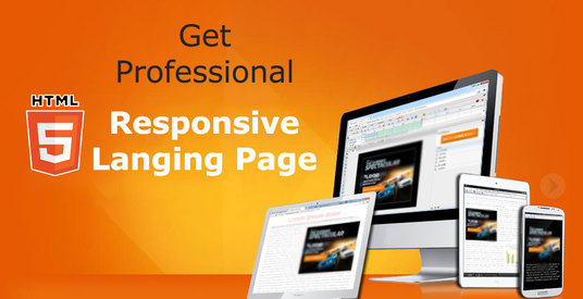 I will Create Professional Landing Page in Wordpress, HTML, wix
