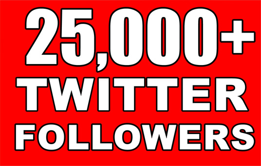 I will Gives you 25,000+Guaranteed NON Drop Followers