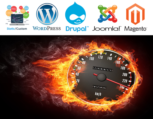 I will Speed up your CMS based Site