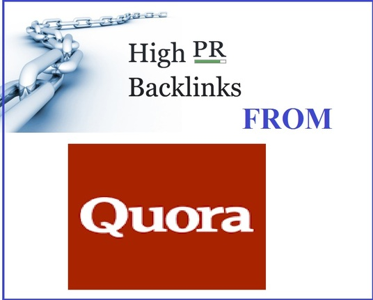 I will create a whitehat and permanent backlink from Quora answer