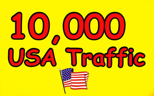 I will Give you 10,000 Guaranteed USA Visitors to your site with proofs