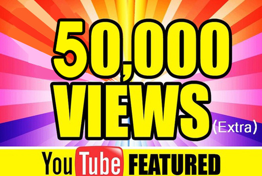 I will Give You High Quality 50,000+YOUTUBE views