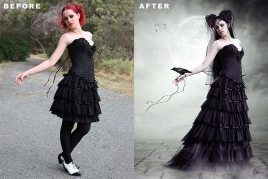 I will do awesome photo manipulation of your 2 photos