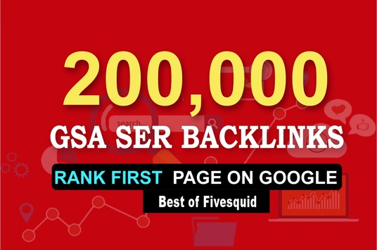 I will do more than 200,000 GSA, Dofollow, Backlinks for Seo