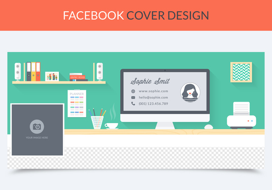 I will design a PROFESSIONAL Facebook Fan Page Timeline Cover Photo