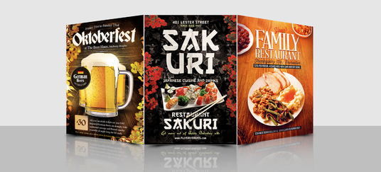 I will Design Food Flyer For you within 24 hours