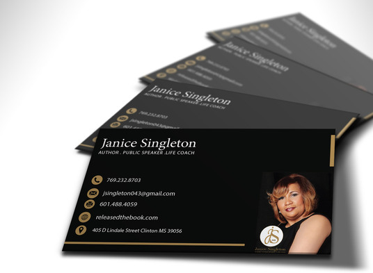 I will design a STUNNING double sided business card